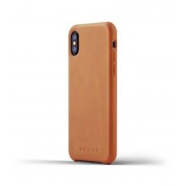 Mujjo Leather Case iPhone X bruin