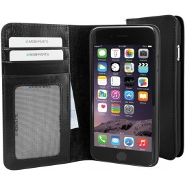Mobiparts Excellent Wallet Case iPhone 6 / 6S Jade Black