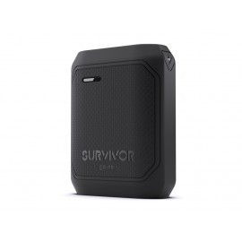 Griffin Survivor Powerbank 10,050 mAh zwart