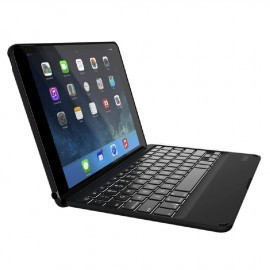 ZAGGkeys Folio AZERTY Backlit KeyBoard iPad Air 2 Black
