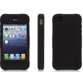 Griffin Survivor Skin iPhone 4(S) zwart