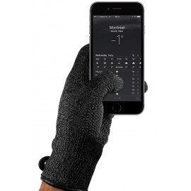 Mujjo Single-Layered Touchscreen Gloves (S) zwart