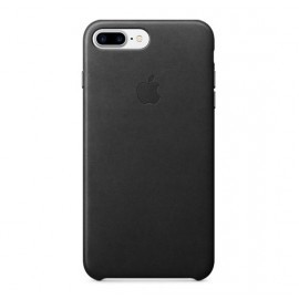 Apple iPhone 7 / 8 Plus Lederen case zwart