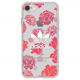 Adidas Originals Clear Case Bohemian iPhone 7 Rood