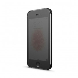 Be Hello Clear touch Book Case iPhone 5(S) / SE zwart