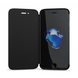 BeHello Clear touch cover iPhone 6(S) / 7 zwart