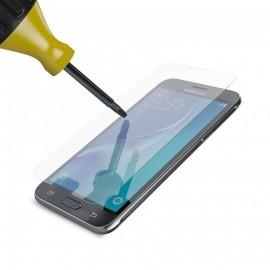 Dit is de High Impact Glass Screenprotector van BeHello, die het scherm van jouw Samsung Galaxy J3 optimale bescherming biedt tegen krassen en andere beschadigingen. Als er een onderdeel kwetsbaar is van je smartphone, dan is het wel het scherm. Het laten
