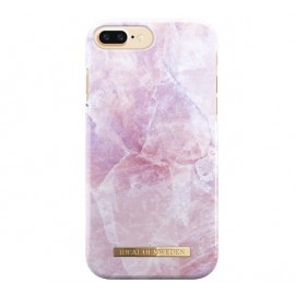 iDeal of Sweden Fashion Back Case iPhone 8 Plus / 7 Plus Fashion Back Case pilion pink marble