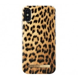 iDeal of Sweden Fashion Back Case iPhone X / XS wild leopard
