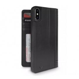 Twelve South Journal iPhone XS Max zwart