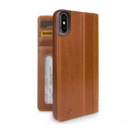 Twelve South Journal iPhone XS Max cognac