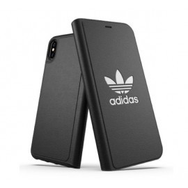 Adidas OR Booklet Case BASIC iPhone XS Max zwart