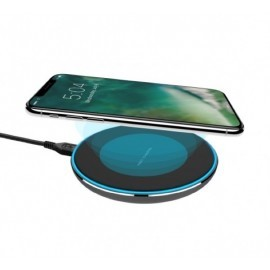 XQISIT Wireless Wast Charger 10W zwart