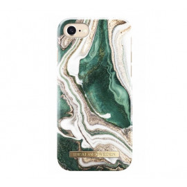 iDeal of Sweden Fashion Back Case Golden Jade Marble iPhone 6(S) / 7 / 8 / SE 2020