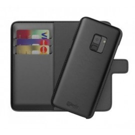 BeHello 2-in-1 Wallet Case Galaxy S9 Zwart