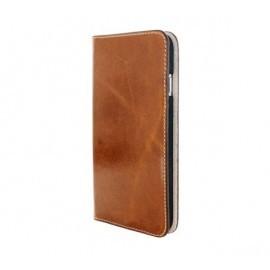 Mobiparts Excellent Wallet Case iPhone 7 / 8 Oaked Cognac