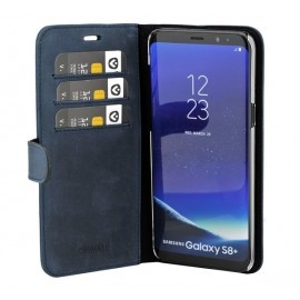Valenta Booklet Classic Luxe Vintage Blue Galaxy S8 Plus