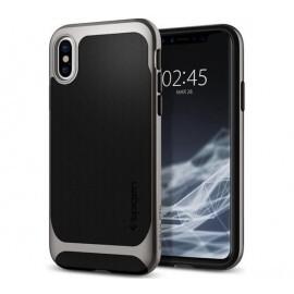 Spigen Neo Hybrid case iPhone X / XS grijs