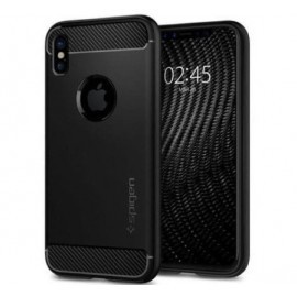 Spigen Case Rugged Armor iPhone X / XS matt zwart