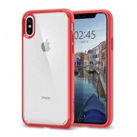Spigen Ultra Hybrid Case iPhone X / XS rood