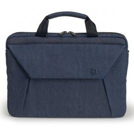 Dicota Slim Case Plus EDGE 14 tot 15.6 inch blauw