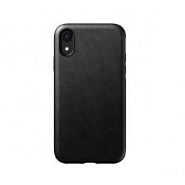 Nomad Rugged Case Leather iPhone XR zwart