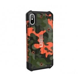 UAG Hardcase Pathfinder iPhone X / XS camo oranje