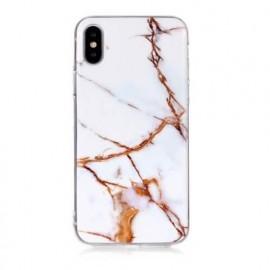 C&S Slim Hardcase Marble iPhone X / XS wit