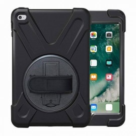 C&S AirStrap hardcase met handvat iPad Mini 4 zwart