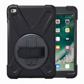 C&S AirStrap hardcase met handvat iPad Mini 1/2/3 zwart