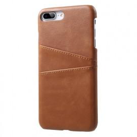 Casecentive Leren Wallet back case iPhone 7 / 8 plus bruin