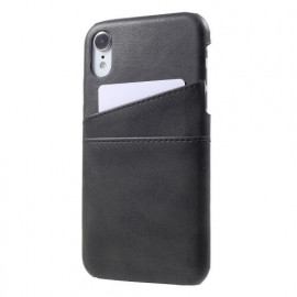 Casecentive Leren Wallet back case iPhone XR zwart