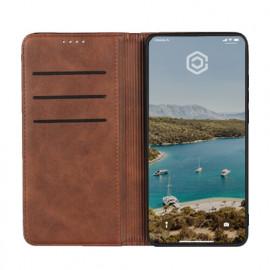 Casecentive Leren Wallet case Huawei P30 Pro bruin