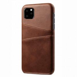 Casecentive Leren Wallet back case iPhone 11 Pro Max bruin
