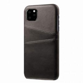 Casecentive Leren Wallet back case iPhone 11 zwart