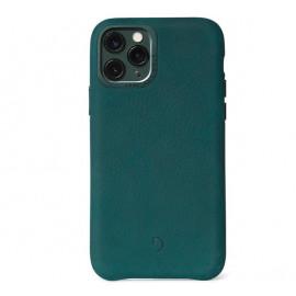 Decoded Leren case iPhone 11 Pro groen
