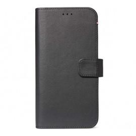 Decoded Leren Wallet Case iPhone 11 zwart