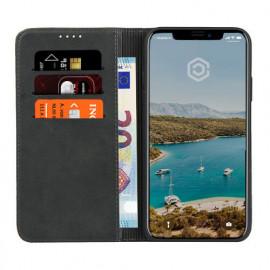 Casecentive Leren Wallet case iPhone 11 zwart
