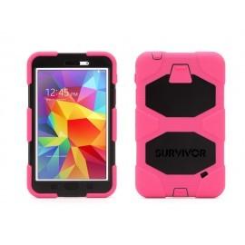 Griffin Survivor hardcase Galaxy Tab 4 7.0 roze/zwart