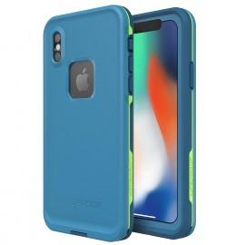 LifeProof Fre case Apple iPhone X / XS blauw