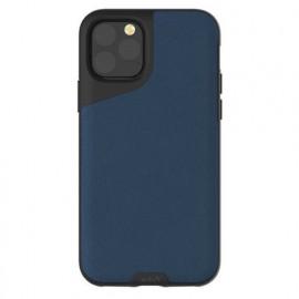 Mous Contour Leather iPhone 11 Pro blauw