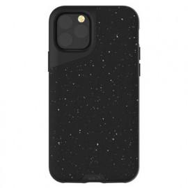 Mous Contour Leather iPhone 11 Pro gespikkeld zwart