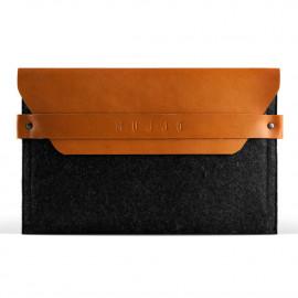 Mujjo Envelope sleeve iPad Mini tan bruin/grijs