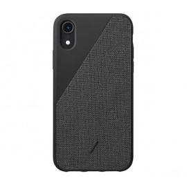 Native Union Clic Canvas case iPhone XR zwart