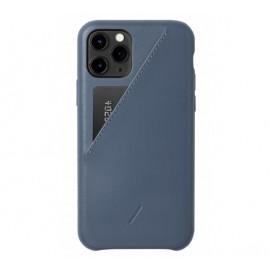 Native Union Clic Card case iPhone 11 Pro blauw