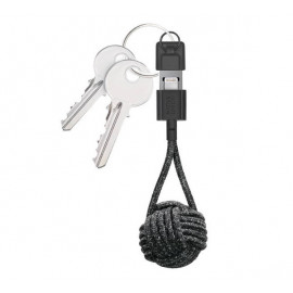 Native Union Kevlar Key Lightning kabel zwart