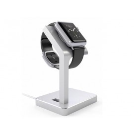Satechi Aluminium Apple Watch Stand zilver