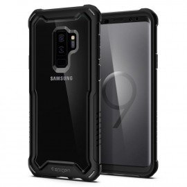 Spigen Hybrid case Galaxy S9 Plus zwart