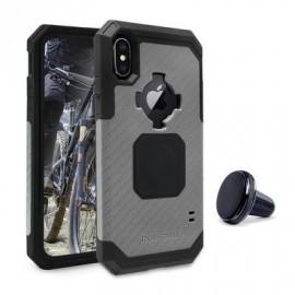 Rokform Rugged case iPhone X / XS gunmetal zwart