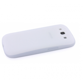 Mobiparts Siliconen Case Galaxy S3 wit